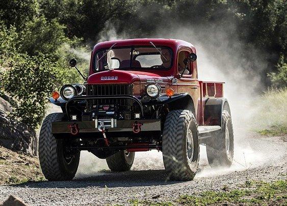 2015 Legacy Power Wagon Conversion- Tough. Vintage American Iron.