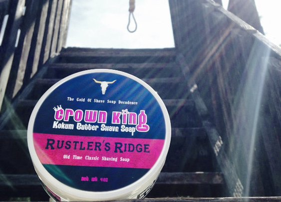 Rustler's Ridge Crown King Kokum Butter Shave Soap - 4 oz – Crown King Shaving