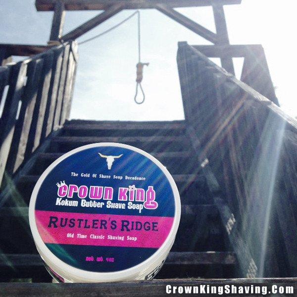 Rustler's Ridge Crown King Kokum Butter Shave Soap - 4 oz – Crown King Shaving