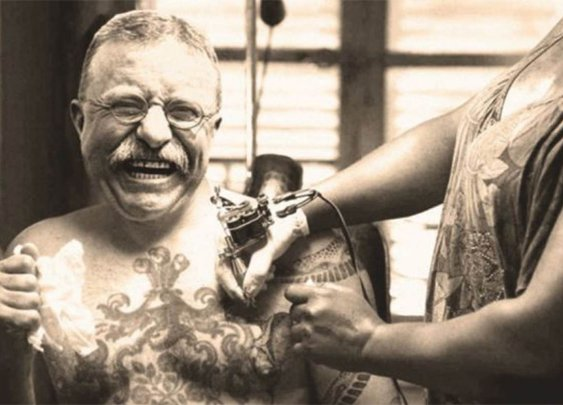 10 Historical Titans With Surprising Tattoos | Mental Floss