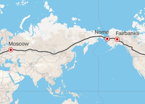 Russia Proposes Massive Superhighway That Will Make It Possible to Drive From U.S. to Europe