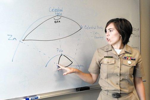 Seeing stars again: Naval Academy reinstates celestial navigation - Capital Gazette