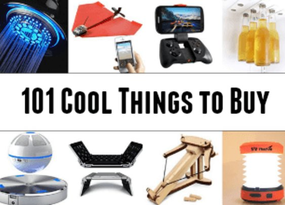 The Top 101 Cool Things to Buy [Massive Post]