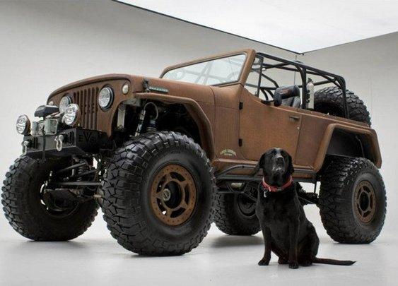 Rusted Jeep Terra Crawler - Men's Gear