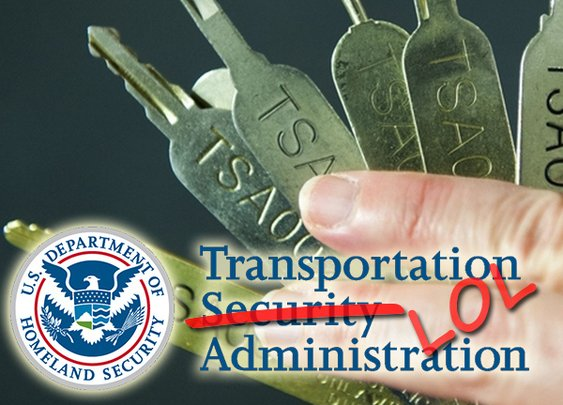 TSA leaks all the keys to your 'secure' luggage
