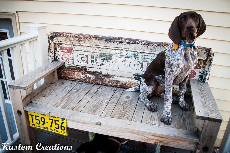 Tailgate Benches - KustomCreations