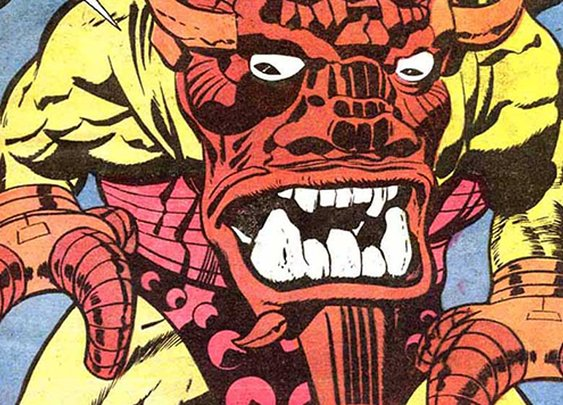 12 Awesome Jack Kirby Monsters with Ridiculous Names :: Comics :: Galleries :: Paste