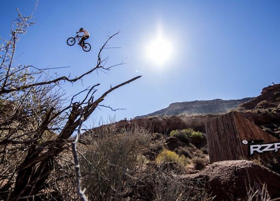 Red Bull Rampage: Watch an inspiring moment