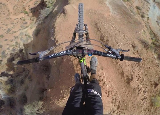 Graham Agassiz 3rd Place GoPro Run - Red Bull Rampage 2015