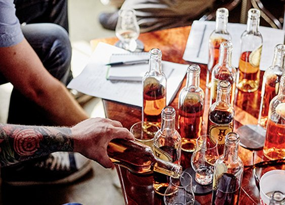 The Great Bourbon Taste Test