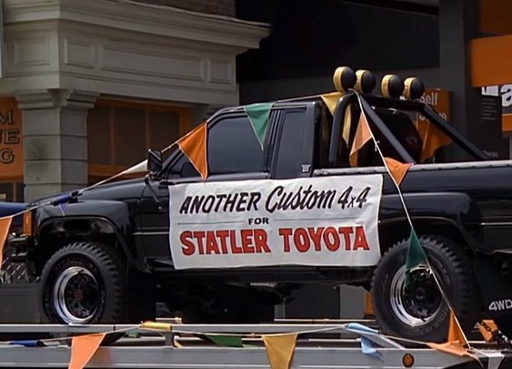 Toyota introduces Back to the Future Pickup Truck