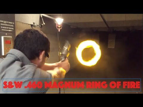 "Ring of Fire - Smith & Wesson .460 Magnum XVR 3.5"" barrel - YouTube"