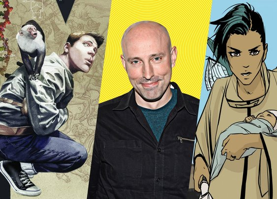 Meet Brian K. Vaughan: The Comic Book Visionary Behind 'Y: The Last Man' - The Daily Beast
