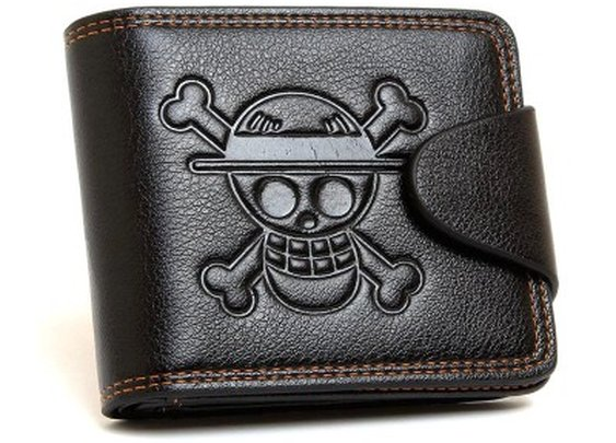 One Piece Leather Wallet | Bling For Nerds