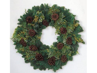 Get In the Christmas Spirit with Fresh Christmas Wreaths Delivered Right to Your Door   Fresh Christmas Wreaths