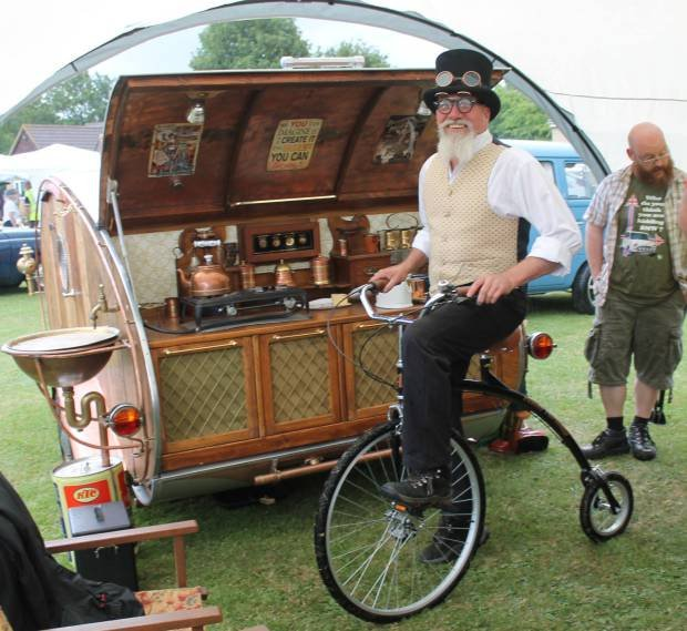 This Teardrop Trailer Lets You Camp in Steampunk Style | Make: