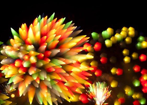 Stunning long exposure Firework Photographs - WhereCoolThingsHappen