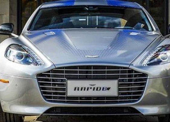 Aston Martin unveils electric concept RapidE