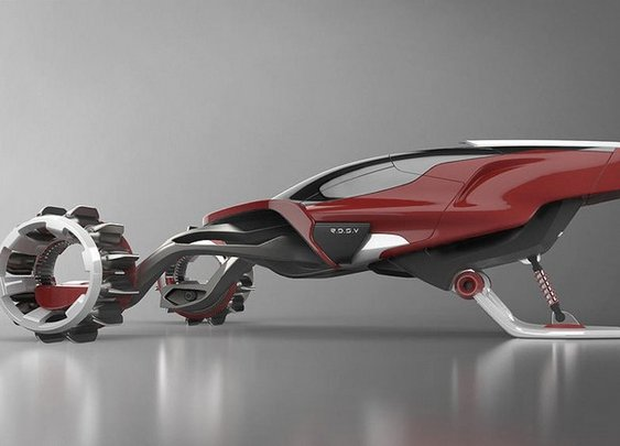 Rapid Deployment Snow Vehicle Concept - Made for polar environments