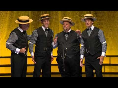 Barber Shop Quartet Takes On Modern Music