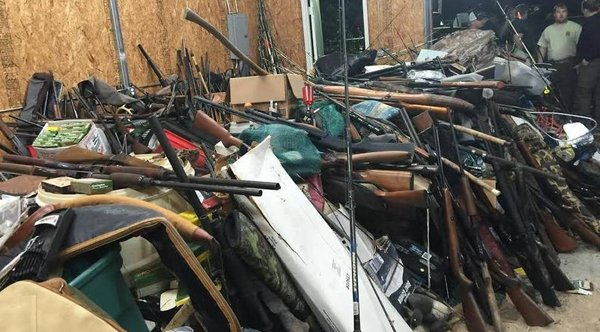 This is what 7,000 stolen guns looks like