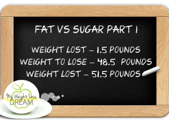 Fat Vs Sugar Part 1 – Is Fat Making You Crave Sugar? | My Weight Loss Dream