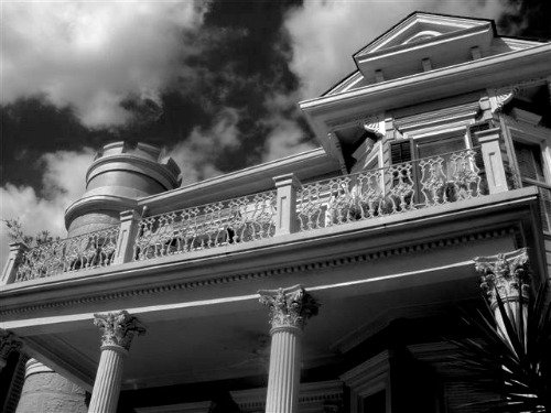 The ghost in the cornstalk Hotel in New Orleans