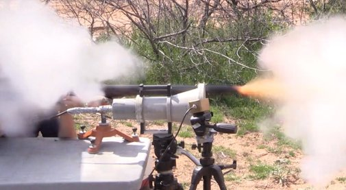 Ever see a 10-bore flintlock rifle in action? (VIDEO)