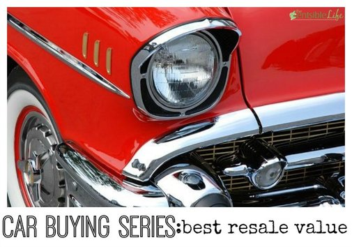What cars earn 'best resale value'?