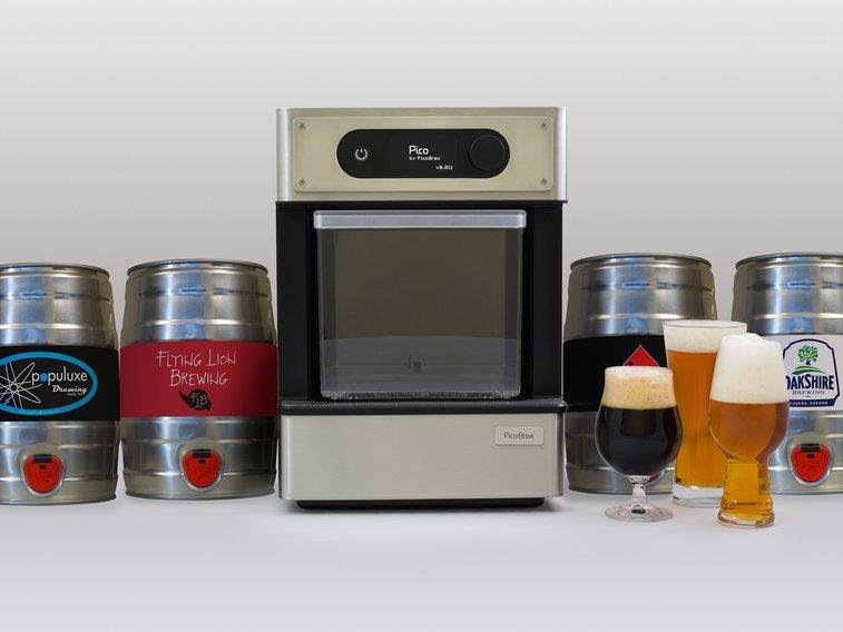 Pico - Craft Beer at Home by PicoBrew Inc — Kickstarter