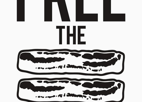 Hey Hollywood! Free The Bacon by Redbubble