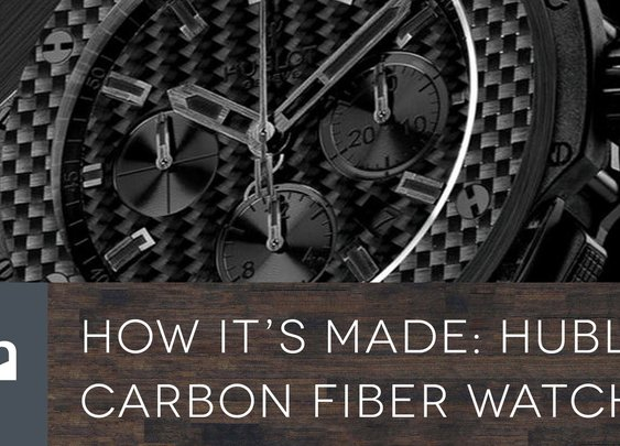 How It's Made - Hublot Carbon Fiber Watches - YouTube