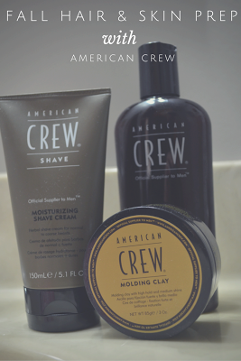 Prepare Hair + Skin for Fall with American Crew