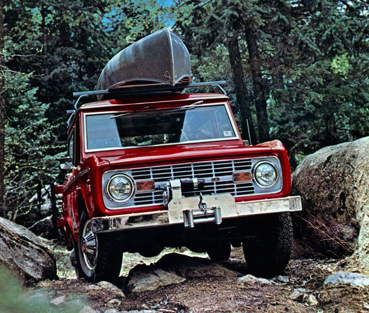 Celebrating 50 Years of the Ford Bronco | A Continuous Lean