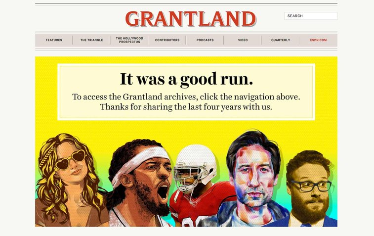 Goodbye to Grantland, ESPN's Home for Actual Sports Journalism | The Nation