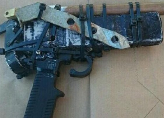 Police recover possibly the worst attempt at a homemade gun, ever