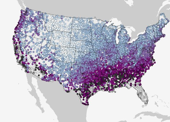 NOAA Maps Historic Snowfall Date for All 50 U.S. States