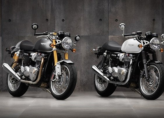 "Triumph Thruxton & Thruxton R - ""The ultimate factory cafe racers"""
