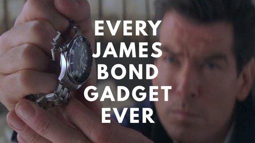Every James Bond Gadget. Ever. - YouTube