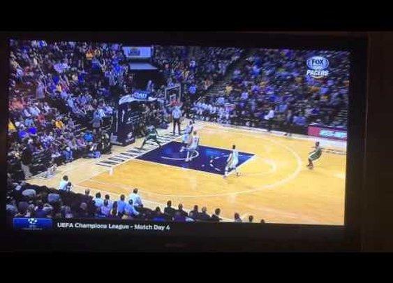 Celtics' Jae Crowder banks it in from 94 feet !!! - YouTube