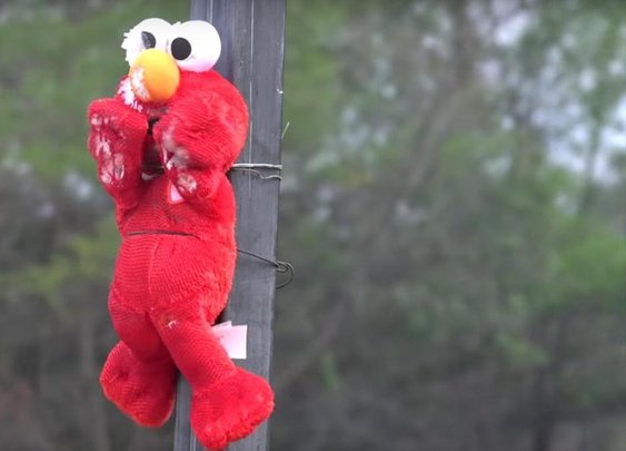 Tickle Me Elmo toy gets incinerated by jet engine