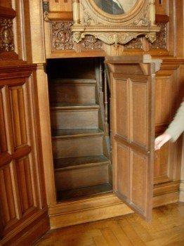 Stairs Behind Secret Door | StashVault