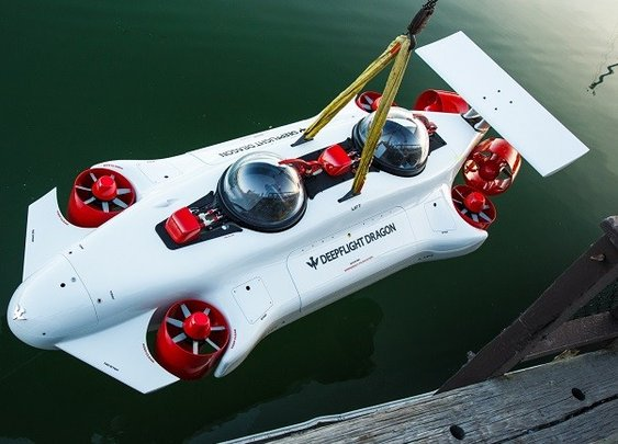 Deepflight Dragon Personal Submarine