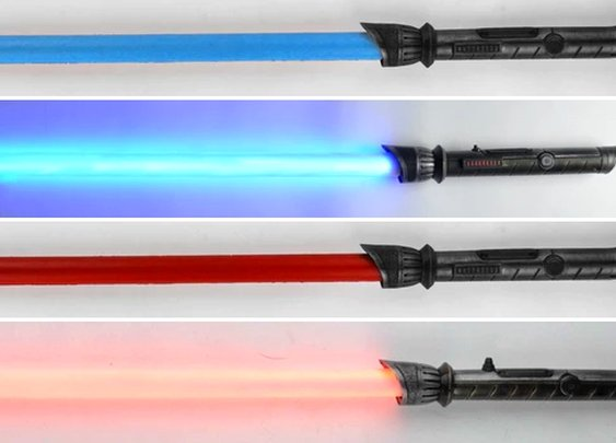There's Finally Battle-Safe Foam Lightsabers That Actually Glow