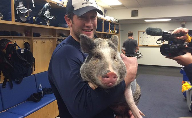Roar Bacon is St. Louis Blues new rally cry - NHL.com - NHL Insider