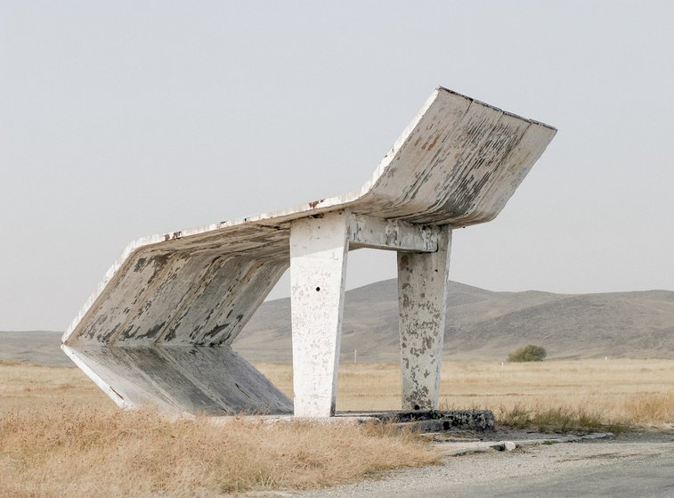 Bizarre brutalist and experimental Soviet bus stops / Boing Boing