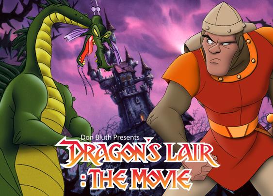 Dragon's Lair: The Movie by Don Bluth & Gary Goldman — Kickstarter