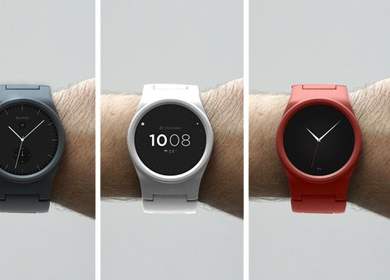 BLOCKS - Modular Smartwatch