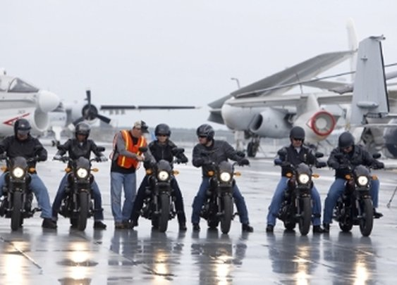 Harley-Davidson Extends Offer Of Free Riding Academy Training To All U.S. Military Starting... -- MILWAUKEE, Nov. 10, 2015 /PRNewswire/ --