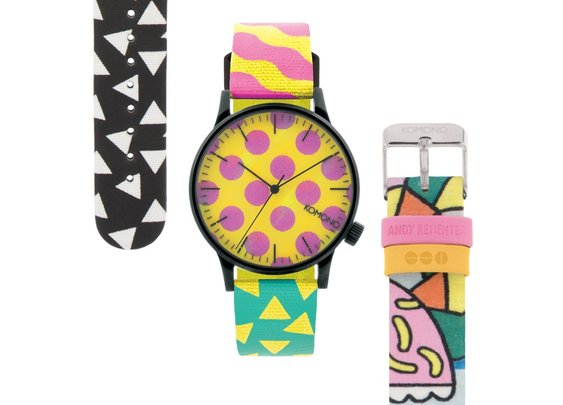 Komono x Happy Socks Colorful Watches